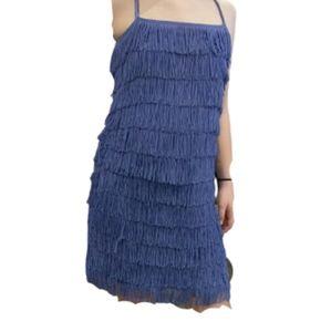 Divided purple Flapper Dress